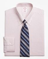 Brooks Brothers Madison Classic-Fit Dress Shirt, Non-Iron Micro-Tattersall