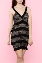Mystic V-Neck Lace Dress