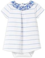 Jacadi Girls' Striped Bodysuit Dress - Baby