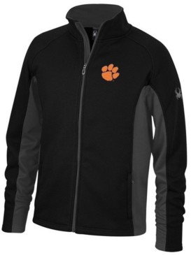 Lids Spyder Men's Clemson Tigers Constant Full-Zip Sweater Jacket