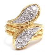 Van Cleef & Arpels excellent (EX) Van Cleef and Arpels 18K Yellow Gold .71 CTW Diamond Wrap Snake Ring
