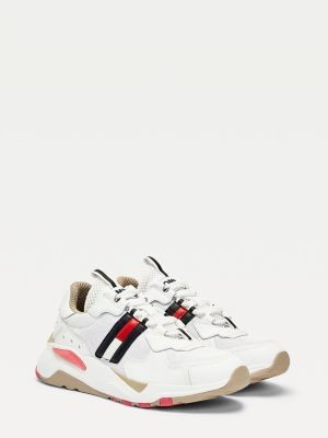 Tommy Hilfiger Colour-Blocked Running Trainers