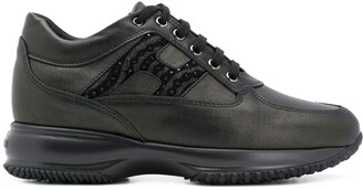 Hogan Interactive leather low-top sneakers