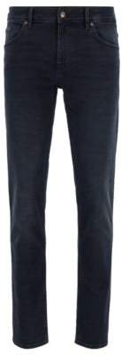 BOSS Extra-slim-fit jeans in super-soft stretch denim