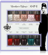 OPI 10-Pc. Breakfast At Tiffany's Mini Set
