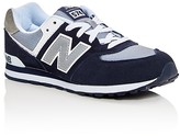 New Balance Boys' 574 Core Plus Lace Up Sneakers - Big Kid