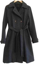 Mauro Grifoni Blue Cotton Trench Coat for Women