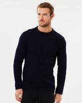 Armani Collezioni Cable Pattern Sweater
