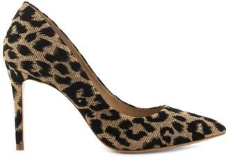 Cosmo Paris Azoa Stiletto Heels in Leopard Print
