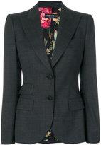 Dolce & Gabbana fitted blazer - women - Polyester/Spandex/Elastane/Wool - 40