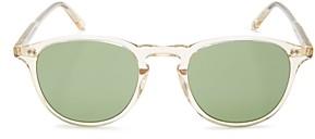 Garrett Leight Garret Leight Men's Hampton Round Sunglasses, 48mm