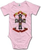 High View Cotton Babysuit Baby Bodysuit Guns N Roses Rock Band (3 Colors) 6 M
