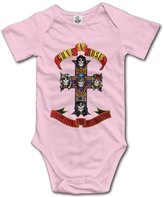 High View Cotton Babysuit Toddler Bodysuit Guns N Roses Rock Band (3 Colors)