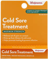 Walgreens Cold Sore Treatment Gel