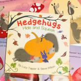 FromLucy Hedgehugs 'Hide And Squeak' Children's Book