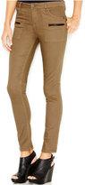 Sanctuary Zipper-Pocket Skinny Pants