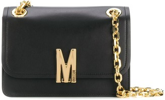 Moschino M-clasp chain shoulder bag