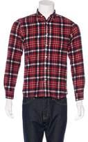 Beams Plaid Flannel Shirt