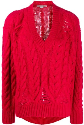 Stella McCartney Knitted Relaxed Jumper