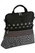 Lassig Casual Buggy Diaper Bag, Multimix Black by
