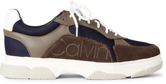 Calvin Klein Grey Stone & Nightscape Penley Low-Top Sneakers