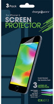 chargeworx 3-Pack iPhone 6 Screen Protector