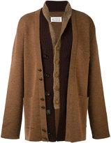 Maison Margiela shawl collar cardigan