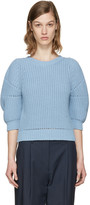 3.1 Phillip Lim Blue Cotton Sweater