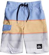 Quiksilver Division Colorblocked Swim Trunks, Little Boys