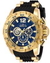 Invicta Men's PRO DIVER Polyurethane Band Steel Case Quartz Analog Watch 26407