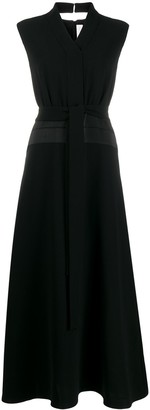 Victoria Victoria Beckham Long Sleeveless Dress