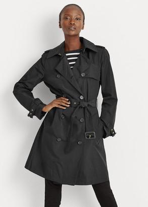 Ralph Lauren Taffeta Trench Coat