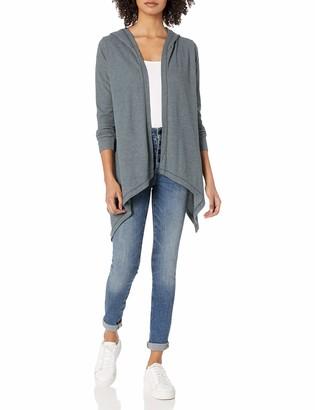 good hYOUman Women's Kimberly Long Sleeve Hooded Cardigan
