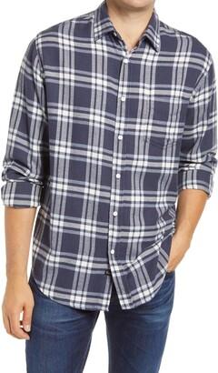 Rails Lennox Men's Plaid Button-Up Flannel Shirt