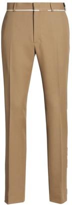 Fendi Cavalry Kaleidoscope Twill Trousers