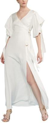 Cynthia Rowley Merissa Wrap Maxi Dress