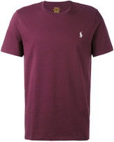 Polo Ralph Lauren logo embroidered T-shirt - men - Cotton - M