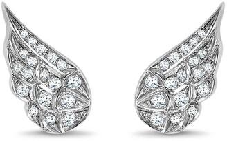 Pragnell 18kt white gold Tiara brilliant-cut diamond earrings
