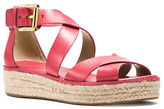 MICHAEL Michael Kors Darby Leather Sandals