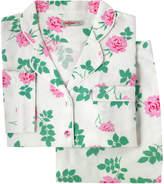 Cath Kidston Brooke Rose Brushed Flannel Long PJ Set
