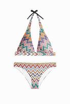 Missoni Zigzag Halternck Bikini Set