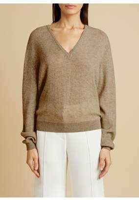 KHAITE The Sam Sweater In Barley