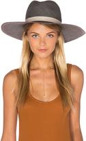 Janessa Leone Dahlia Wide Brimmed Panama Hat