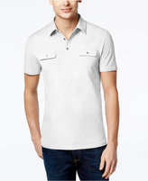 Alfani Men's Big and Tall Two-Tone Polo, Only at Macy's