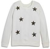 Bloomie's Girls' Glitter Star Sweatshirt - Sizes 2-6X
