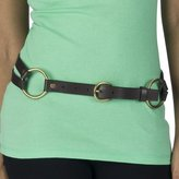 Women's Mossimo Double Strap Equestrian Belt - Brown