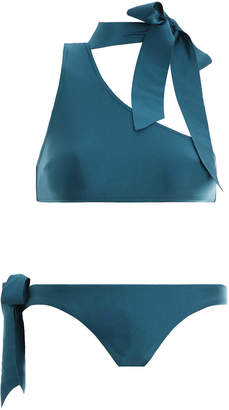 Zimmermann Allia Tie Neck Bikini