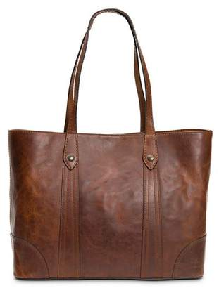 Frye Melissa Large Leather Shopper Tote