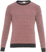 Moncler Striped cotton-knit sweater
