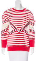 See by Chloe Striped Pullover Sweatshirt